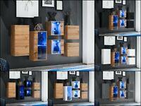 SB Kommode Sideboard Anrichte SWITCH IV Wotan Hochglanz PVC Push - Click LED