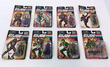 GI Joe 25th Anniversary Lot of 8, Mint on Card, Hasbro, 2007, New, Good-VGC