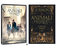 ANIMALI FANTASTICI E Dove Trovarli (DVD + LIBRO) da Harry Potter