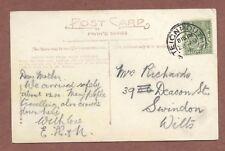 Brent Tor Devon, Frith's 1916,  Mrs Richards 39  Deacon Street  Swindon    AH318