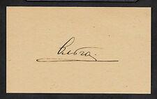 Grand Duchess Olga Romanov Autograph Reprint On Genuine 1910s 3x5 Card