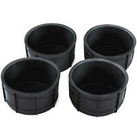 4) Fits 00-06 Silverado Reg/Ext Cab Dash Pull-Out & Fr Floor Cup Holder Inserts