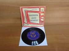Modern Jazz Quartet : Concorde ( 3 Track EP ) esquire : EP-109