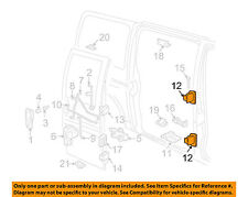 Side loading Door Hinge RH Chevrolet Express 97 98 99 00 01 02 GM OE 19120837 C3