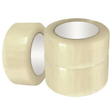 24 ROLLS OF CLEAR PARCEL PACKING TAPE PACKAGING CARTON SEALING 50MM X 66M