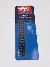 Aqua Culture: Digital Aquarium Thermometer - Sticker - Stick-on