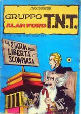 CORNO BUNKER ALAN FORD GRUPPO T.N.T. N.103 1981