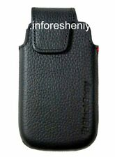 Original Leather Case with Clip for Leather Swivel Holster BlackBerry 9850/98...