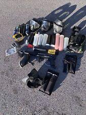 Tippmann Model 98 paintball marker gun Rhino bundle starter set lot cannister