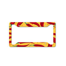 Chili Pepper Auto Car License Plate Frame Tag Holder 4 Hole