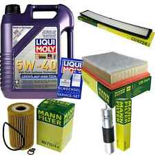 Inspection Kit Filter Liqui Moly Oil 5L 5W-40 for BMW 3er E46 318i