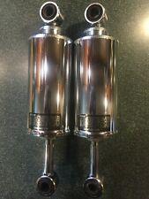 Harley Davidson Softail Chrome Low Profile Rear Suspension Shocks 54588-94.