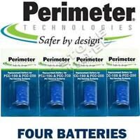 4 Pk Perimeter Fence Collar Battery PTPRB-003 Perimeter Replacement Battery