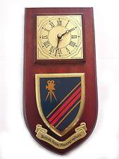 British Army Photographers Regimental Military Wall Plaque Clock