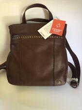The Sak Calabasas Brown Soft Leather Mini Backpack / Bag
