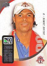 2008 Upper Deck Major League Soccer 'Super Draft' Julius James SD-13 Toronto FC
