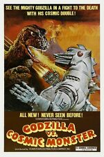 "VINTAGE - GODZILLA VS COSMIC MONSTER MOVIE POSTER 12"" X 18"""