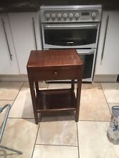Lovely Old Vintage Oak Side/ Hall Table with draw.