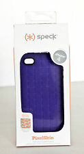 NEW Speck Purple PixelSkin iPhone 4 4s cover