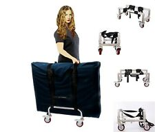 Massage Table Cart (Trolley) for Professionals Aluminium Frame - Light, Durable
