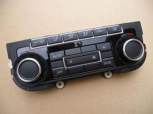 VW Golf VI Klimabedienteil ohne Sitzheizung schwarz Klima 5K0907044ER