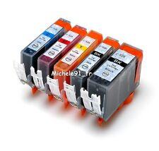 Pack 5 cartouche compatible PGI525 CLI526 Canon Pixma MG5150 avec PUCES