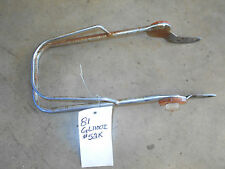 honda gl1100 goldwing chrome front fender guard rail trim interstate 81 82 1100
