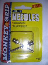 Monkey Grip Set of 2 Inflator Sports Equipment Needles