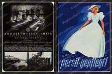 ORIG. publicitarias de agosto-thyssen-cabaña Duisburg Hamborn acero montan Cuenca del Ruhr 1938
