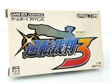 Ace Attorney 3 Gyakuten Saiban - Jeu Game Boy Advance GBA JAP Japan complet