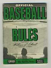 1966 Official Baseball Rules   The Sporting News