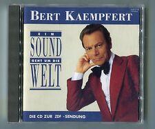 Bert Kaempfert cd EIN SOUND GEHT UM DIE WELT © 1991 polystar 511 603-2 - 16 tr