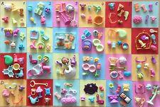 Petshop Lot de 6 petits accessories à choisir parmi la sélection de 24