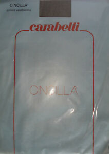 Collant sexy vintage extra fin Carabelli T1 38/40 Sheer Nylon Tights panty Sissy