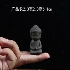 Buddha Statue Monk Tea Pet for Tea Room Exquisite Handmade Ornament