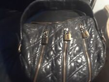 Betsey Johnson leather locks quilted handbag