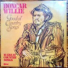 "BOXCAR WILLIE ""Good Ol' Country Songs"" NEW FACTORY SEALED 1982 K-Tel LP"