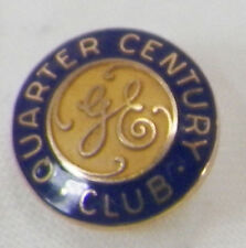 10K GOLD GE GENERAL ELECTRIC QUARTER CENTURY TIE PIN  A