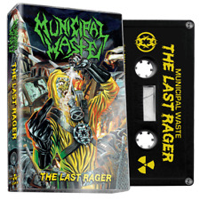 Municipal Waste The Last Rager (Black Cassette)  Thrash Metal LMT to 300