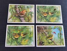 COOK ISLANDS 1989 SG MS1226 ENDANGERED BIRDS MNH  (Y)