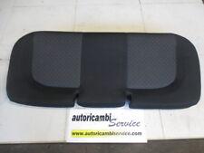 FIAT GRANDE PUNTO 1.2 B 5M 48KW (2007) RICAMBIO SEDUTA SEDILI POSTERIORI