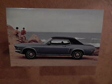 NOS MUSTANG ORIGINAL FORD ISSUE SALES MAILER POSTCARD 1969 GRANDE 69 COUPE