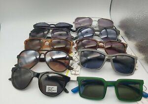 JOB LOT of various designs fashion sunglasses  x 10 pairs - NEW 😎
