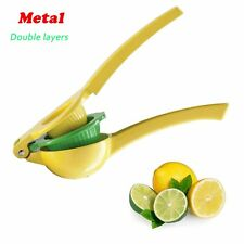 Premium Lemon Lime Citrus Juicer Squeezer Manual Hand Held Double Layers Tool