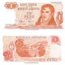 Argentina 1 Peso 1970-73  P-287  Banknotes  UNC