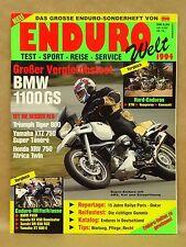 Vtg 1994 Enduro Welt Motorcycle Enduro Magazine BMW1100 F650 NX650 XT600 DR650
