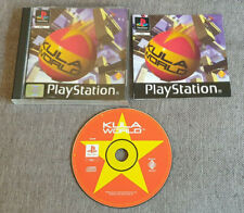Sony Playstation 1 ps1 Spiel KULA WORLD Boxed mit Handbuch
