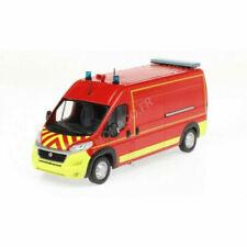 Odeon Fiat Ducato VSR Pompiers Echelle 1:43 Voiture Miniature - Rouge