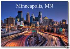 Skyline of Minneapolis, Minnesota, MN 2 x 3 Souvenir Travel Fridge Magnet MM900