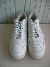 Vtg NIKE AF-1 Size 17 1982 Air Force-1  Low-Top Athletic Shoes White on white